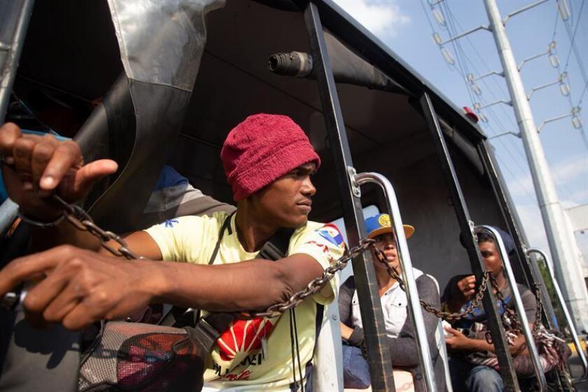 """La mayoría de integrantes de la caravana migrante que intenta reagruparse en la ciudad mexicana de Tijuana, frontera con Estados Unidos, aspira al """"sueño americano"""" aunque muchos solo lo conocen de oídas. EFE/ARCHIVO"""