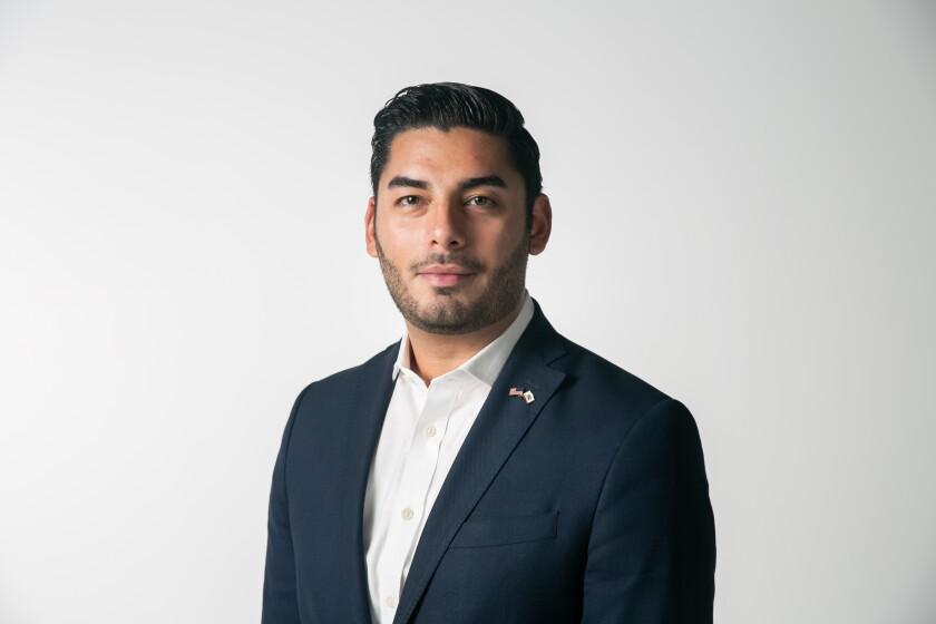 Ammar Campa-Najjar a candidate in California's 50th Congressional District.