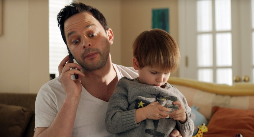 "In this image released by Radius-TWC, Nick Kroll appears in a scene from ""Adult Beginners."" (Radius-TWC via AP)"