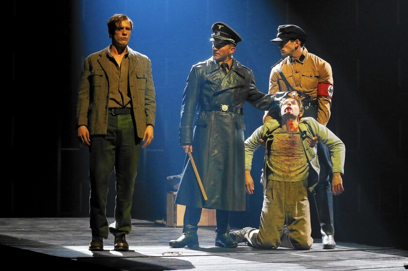 """""""Bent"""" boldly confronts the sadism and murderous violence that the Nazis unleashed on their prisoners."""