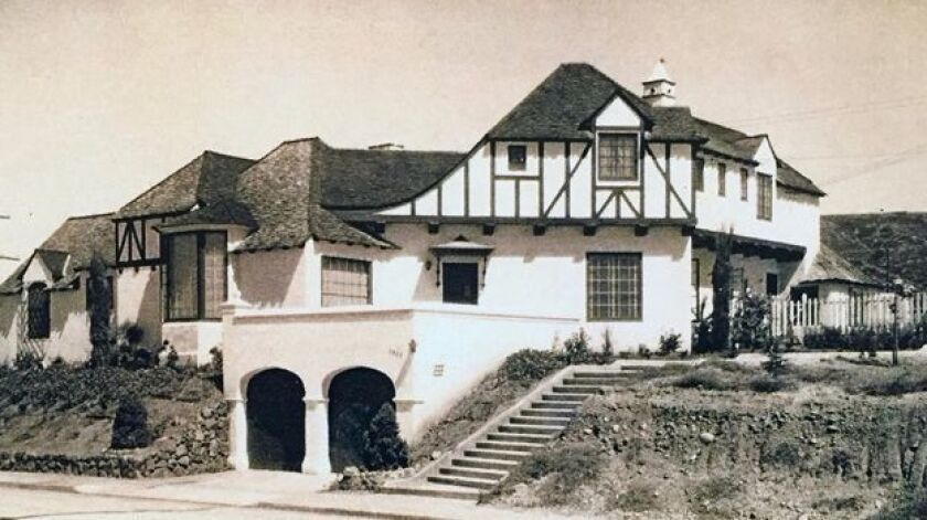 San Diego Historic Landmark No. 1140 is Hayes House, located in Lower Hermosa. It was built in 1934 by architect Edgar Ullrich.