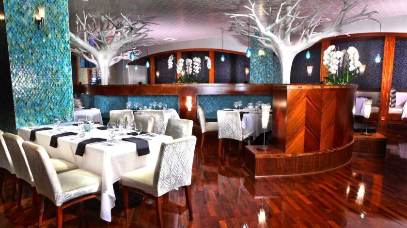The Grove Steakhouse at Viejas Casino and Resort. Courtesy photo