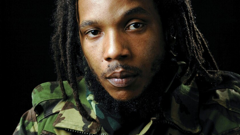 A photo of Stephen Marley
