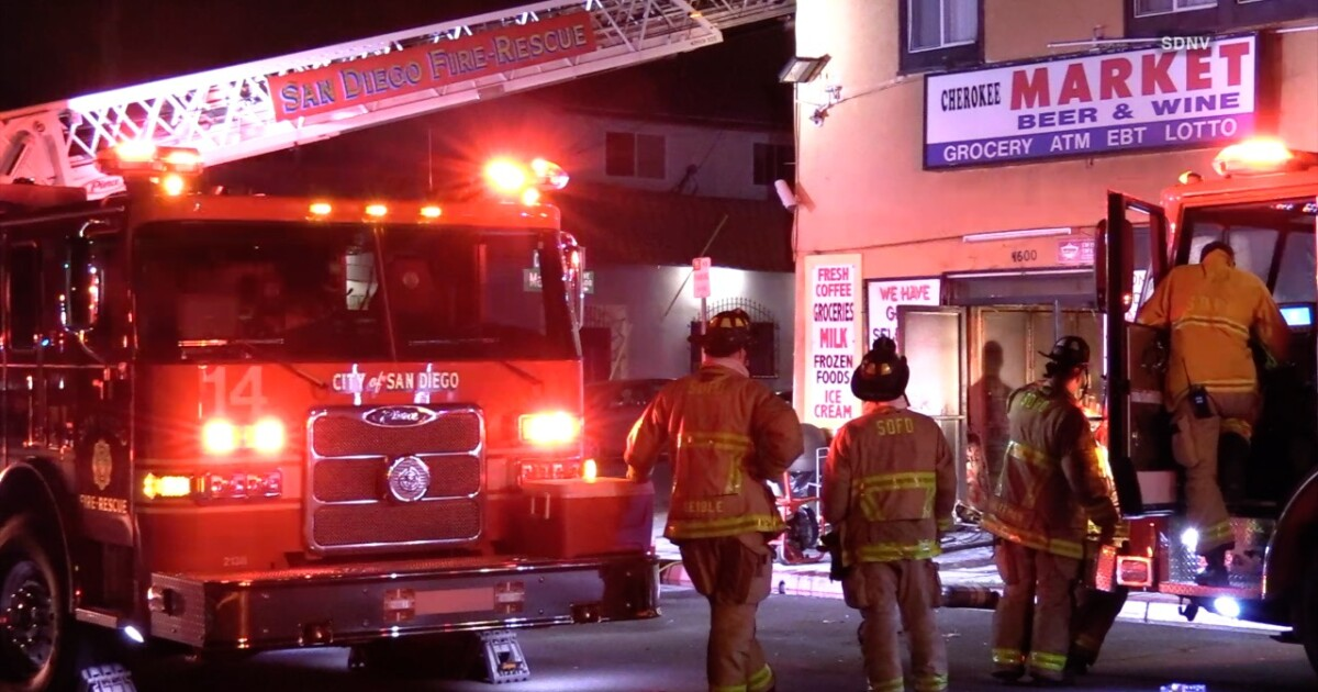Fire causes $200K damage to Normal Heights market and liquor store