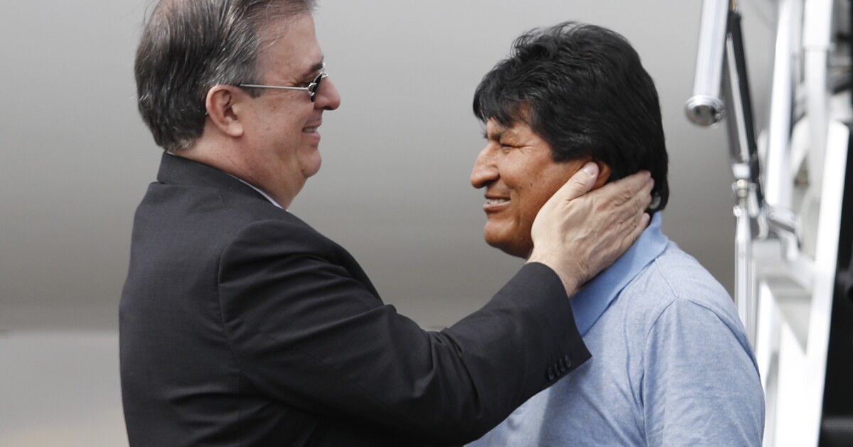 Former Bolivian President Evo Morales arrives in Mexico after accepting political asylum