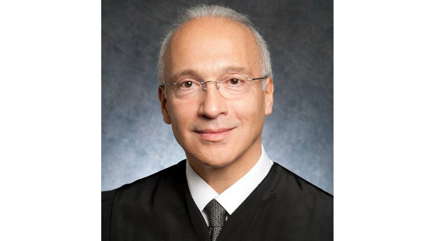 Judge Gonzalo Curiel of the U.S. District Court for the Southern District of California.
