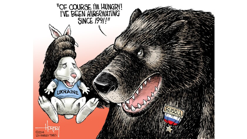 Putin's Ukraine incursion brings back the bad old bear