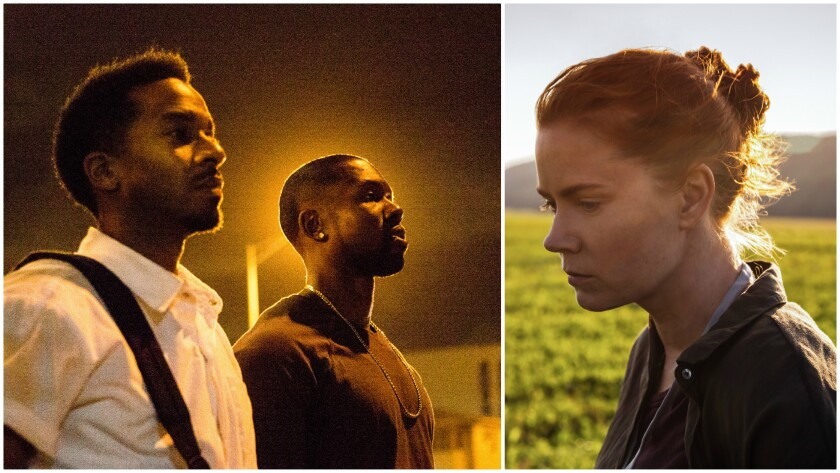 'Moonlight,' left, and 'Arrival' pack an emotional punch.