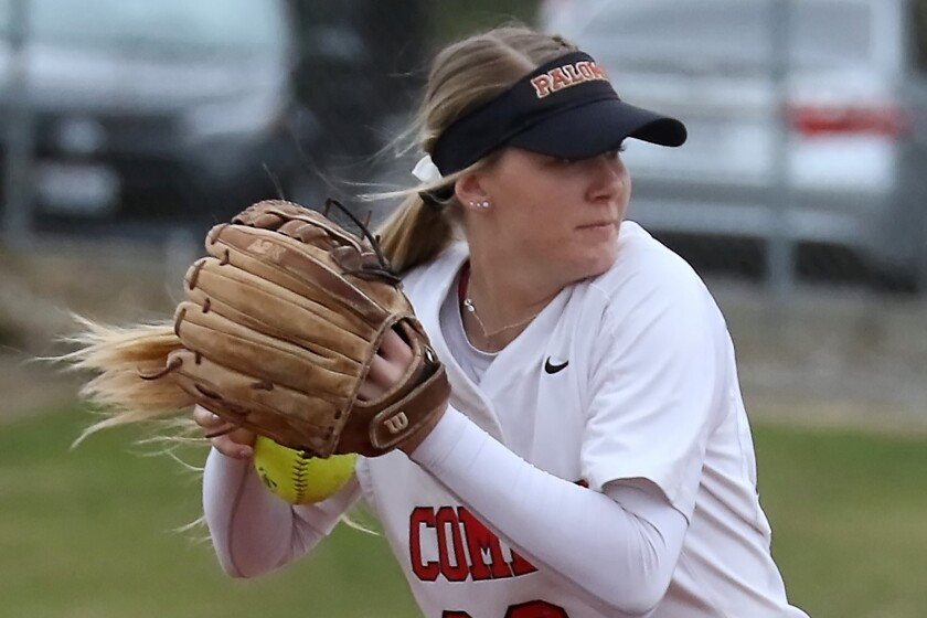 Allie Hughen posted an 11-1 record in the pitcher's circle and a conference-leading 0.55 ERA.