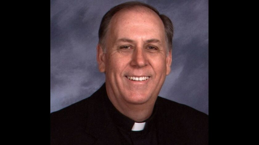 Father Justin Langille has been suspended by the San Diego Catholic Diocese.