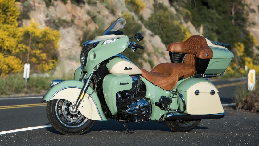 The Roadmaster's 1811cc air-cooled V-twin engine is a perfect mix of power and sound.