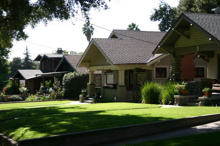 Pasadena Heritage presents walking tours of the Bungalow Heaven (pictured) and Hillcrest neighborhoods on Dec. 30.