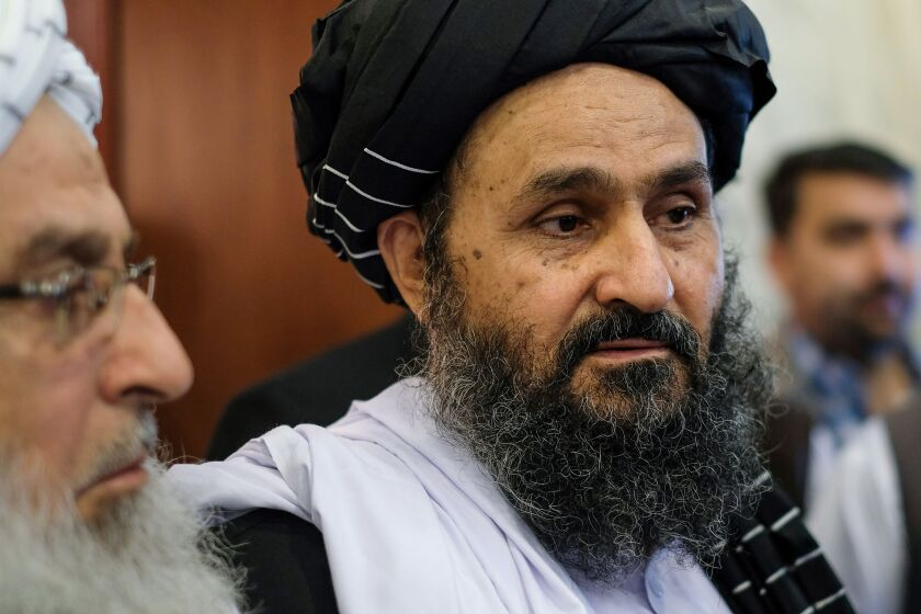 Mullah Abdul Ghani Baradar is the chief negotiator for the Taliban.