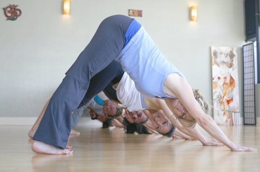Prana yoga on Silverado Street in La Jolla offers classes to meet participants' specific needs and abilities.
