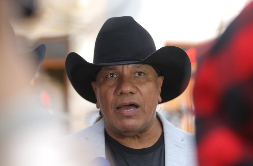 El vocalista y bajista Lupe Esparza en una imagen reciente.
