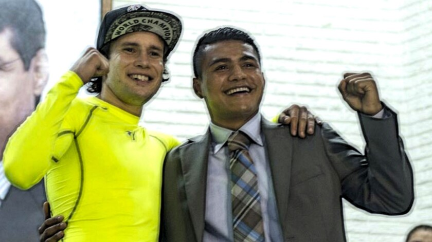 El mexicano Carlos Cuadras y el nicaragüense Román 'Chocolatito' González.... un duelo esperado.