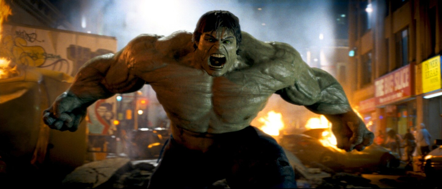 It took two big-screen Hulk outings - including the MCU's 2008 entry - to prove definitively that Hulk, when angry, works much better when he's playing off another superhero (from Iron Man to Black Widow to Thor). Otherwise, it's just too tough to really get beneath the big guy's green skin.