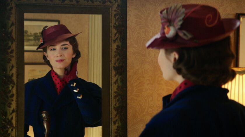 """Emily Blunt takes over the title role in the new musical sequel """"Mary Poppins Returns."""""""