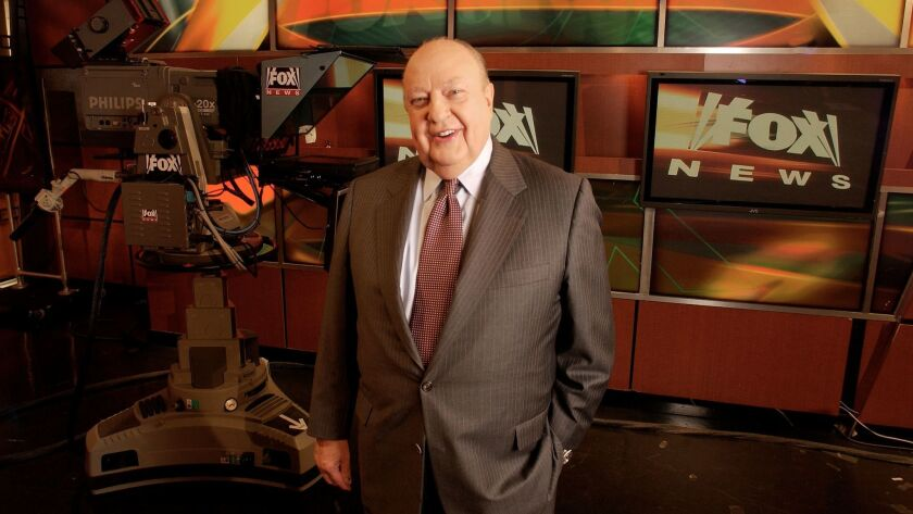 Fox News CEO Roger Ailes in 2006.