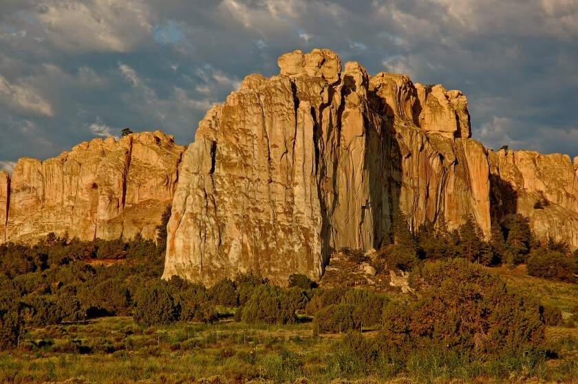 History is etched into New Mexico's El Morro National Monument.
