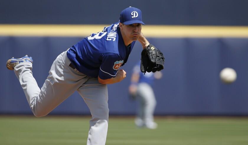 Dodgers pick rookie Ross Stripling as No. 5 starter