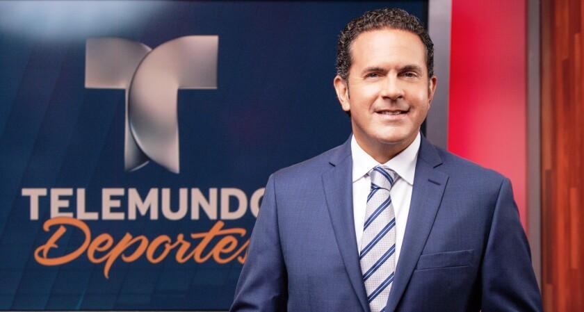 Sammy Sadovnik, relator de Telemundo en la Copa América