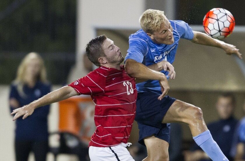 USD played a scoreless tie against San Francisco on Friday night.