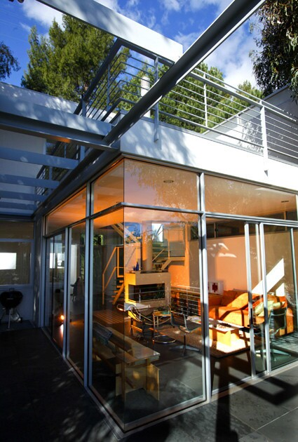 Architect Jon Frishman's home