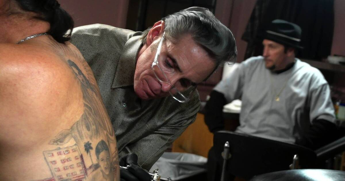 Movie Review Tattoo Nation Doc Studies Art Form S Mark On U S Los Angeles Times