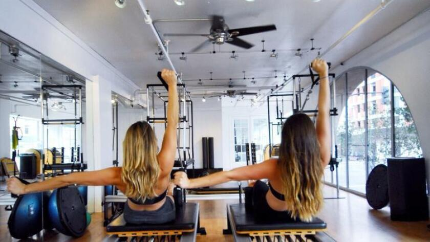 Jordan White and Shayna Keel, owners of Performance Pilates (/ David Hutchison)