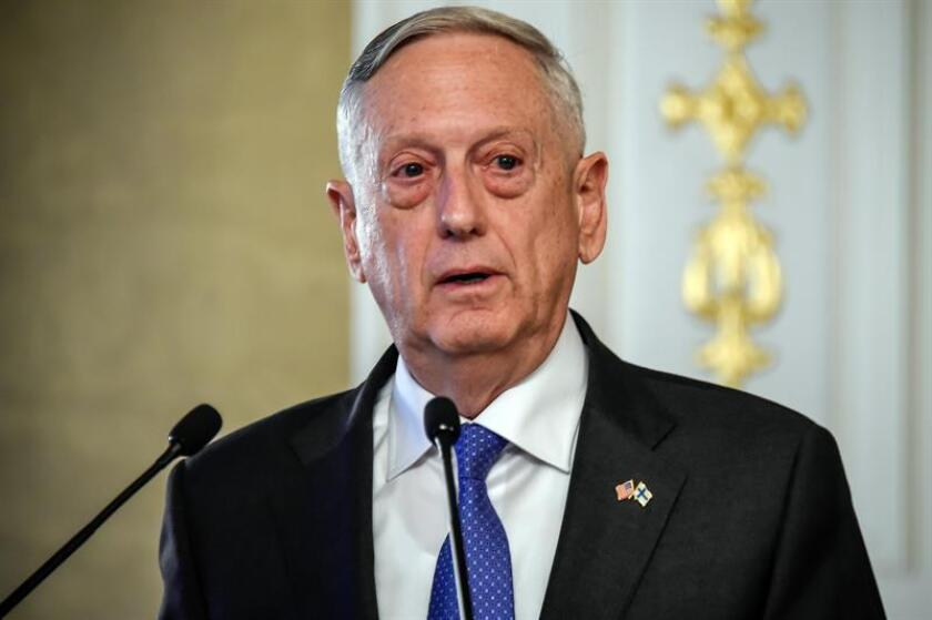 El secretario de Defensa de los Estados Unidos, James Mattis. EFE/Archivo