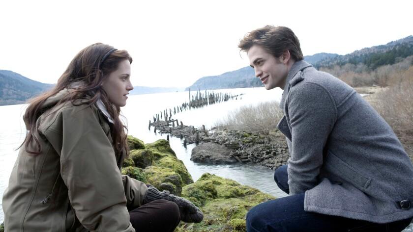 """Kristen Stewart and Robert Pattinson in """"Twilight."""""""