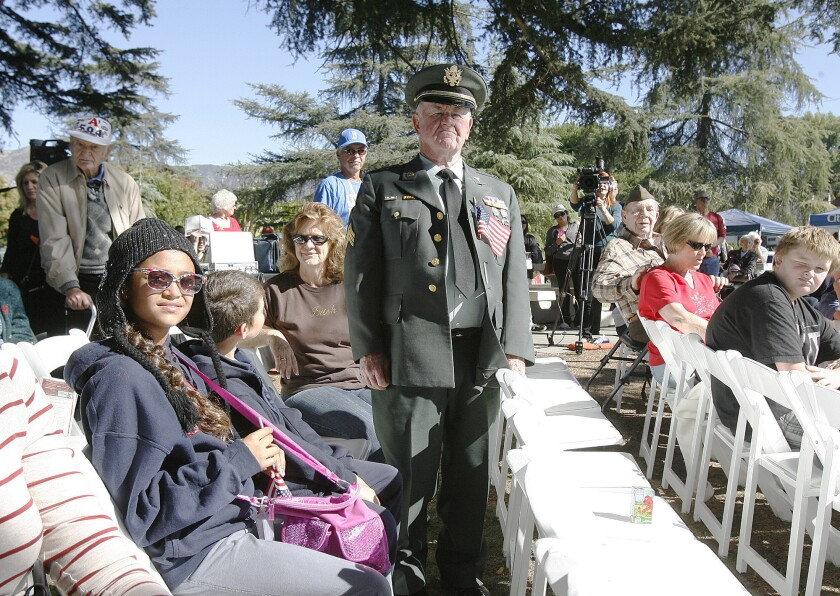 To veterans in Burbank: 'This is your day -- enjoy it'