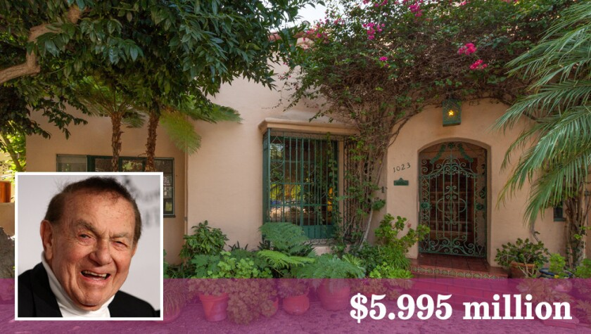 The Beverly Hills home of the late actor and comedian Jack Carter has come on the market for the first time in 40 years.