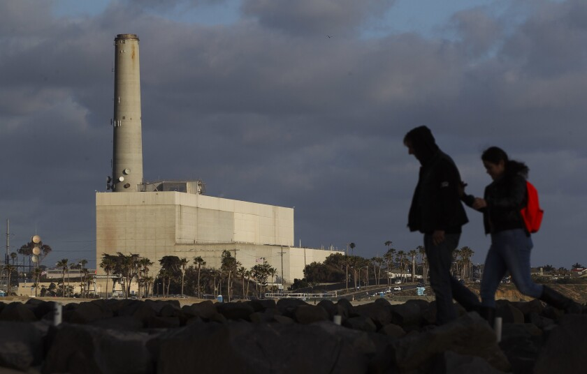The proposed Carlsbad Energy Center would replace the aging Encina Power Station.