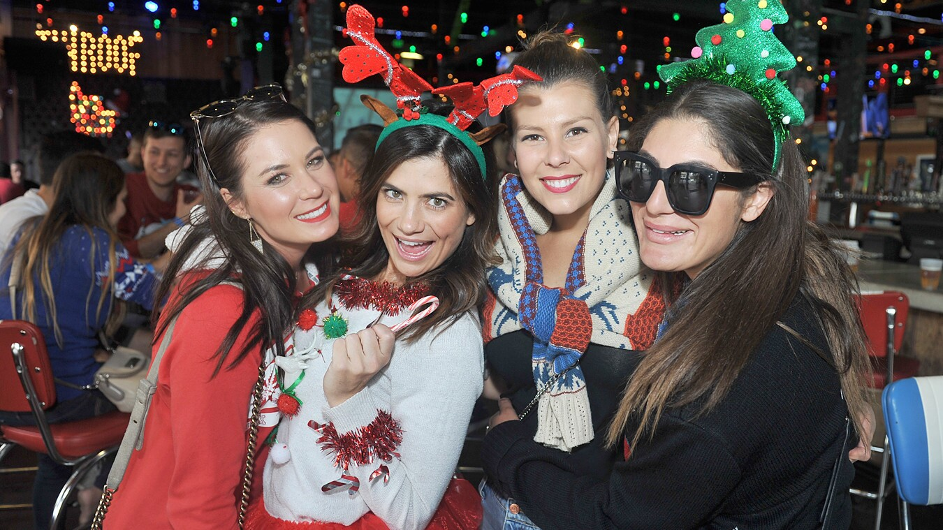 Festive San Diegans toasted to the holidays at the Toast of Gaslamp on Saturday, Dec. 9, 2017.