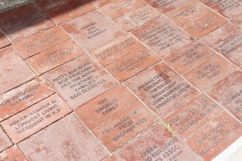 RB Historical Society bricks.JPG