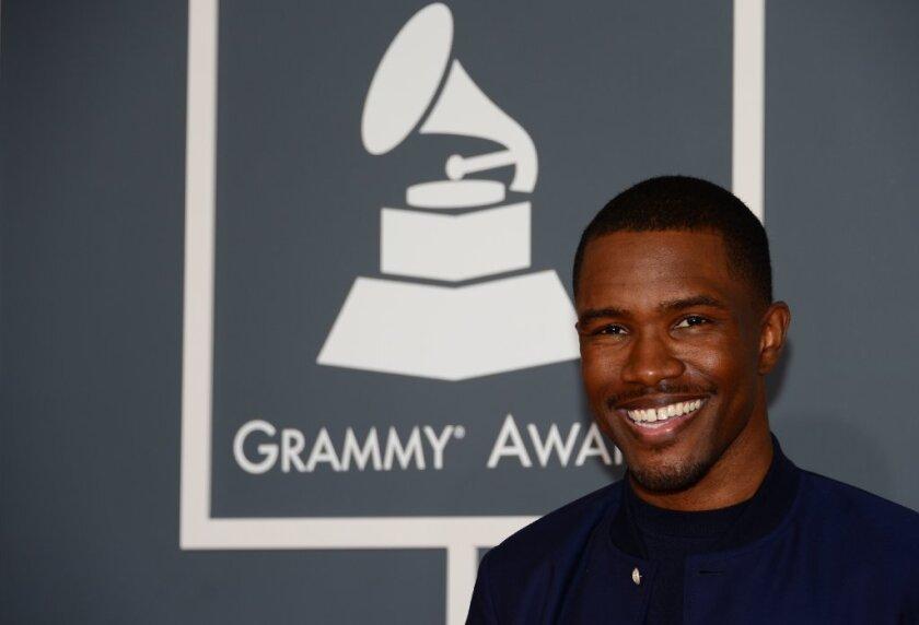 Grammys 2013: Frank Ocean wins for urban contemporary album