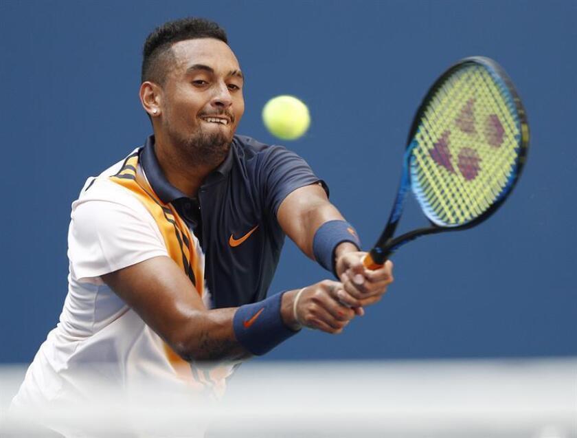 imagen del tenista australiano Nick Kyrgios. EFE/Archivo