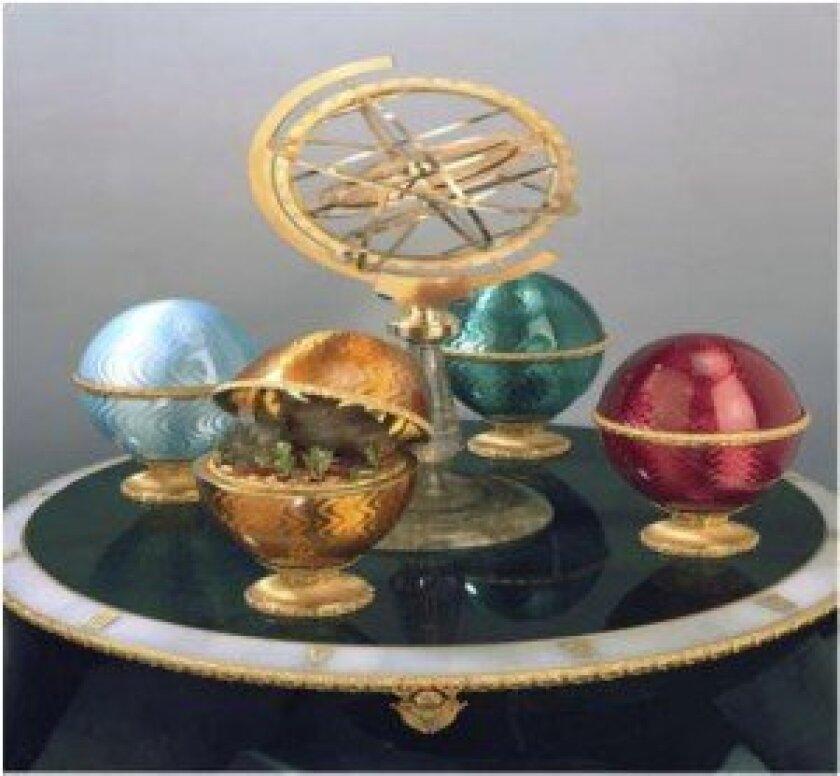 Andreas von Zadora Gerlof — Four Seasons Clock.