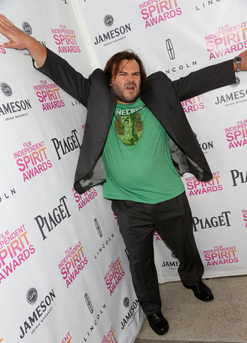 Actor, musician and funnyman Jack Black attends the 2013 Independent Spirit Awards nominees brunch in January. Black is slated to emcee the REDCAT gala on Saturday.
