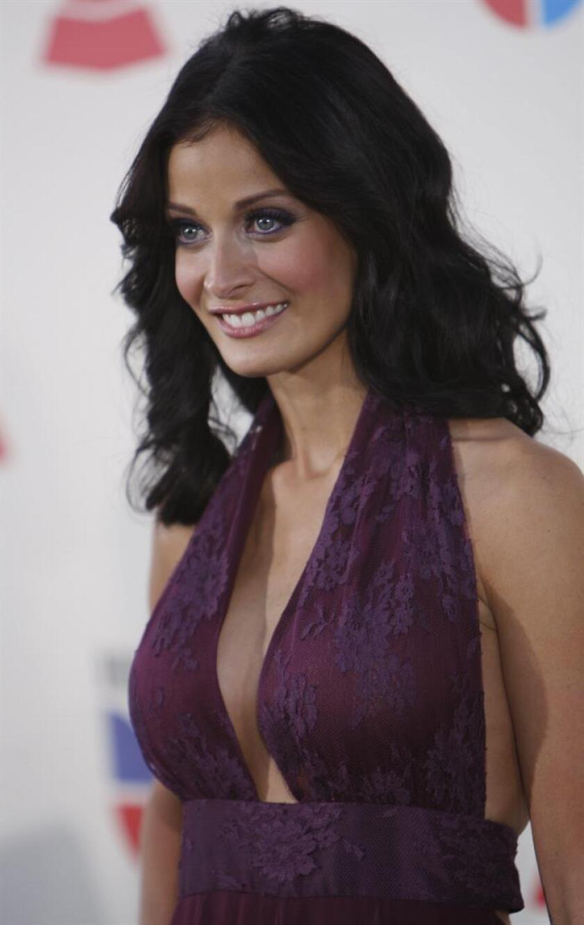 File photo of Former Miss Universe Dayanara Torres from Puerto Rico on Nov. 8, 2007 at the Latin Grammy in Las Vegas, USA. EPA-EFE/PAUL BUCK