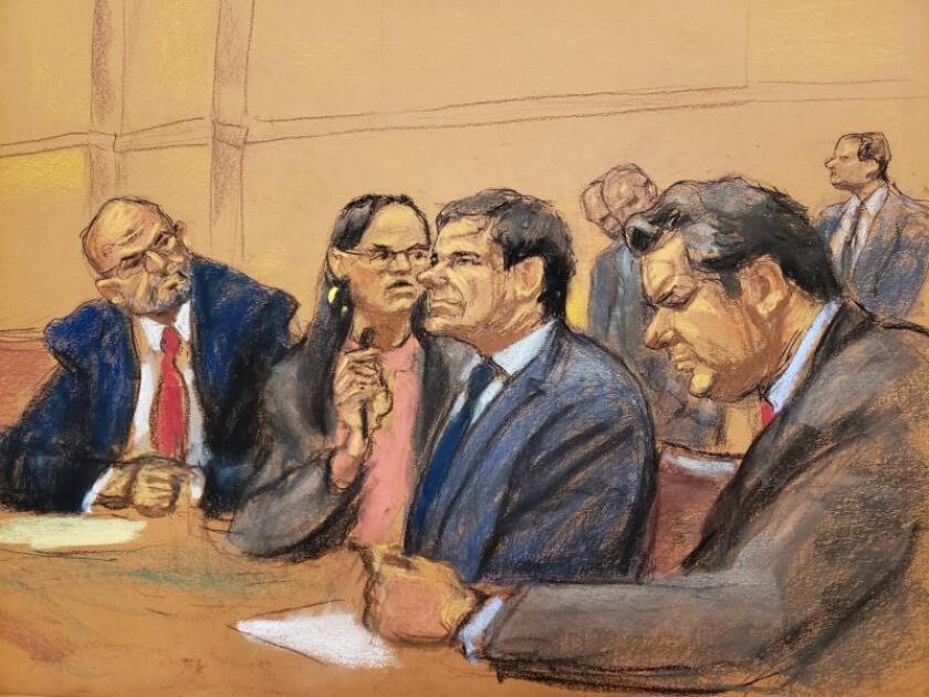 La defensa del Chapo insiste en la necesidad de que se repita el juicio