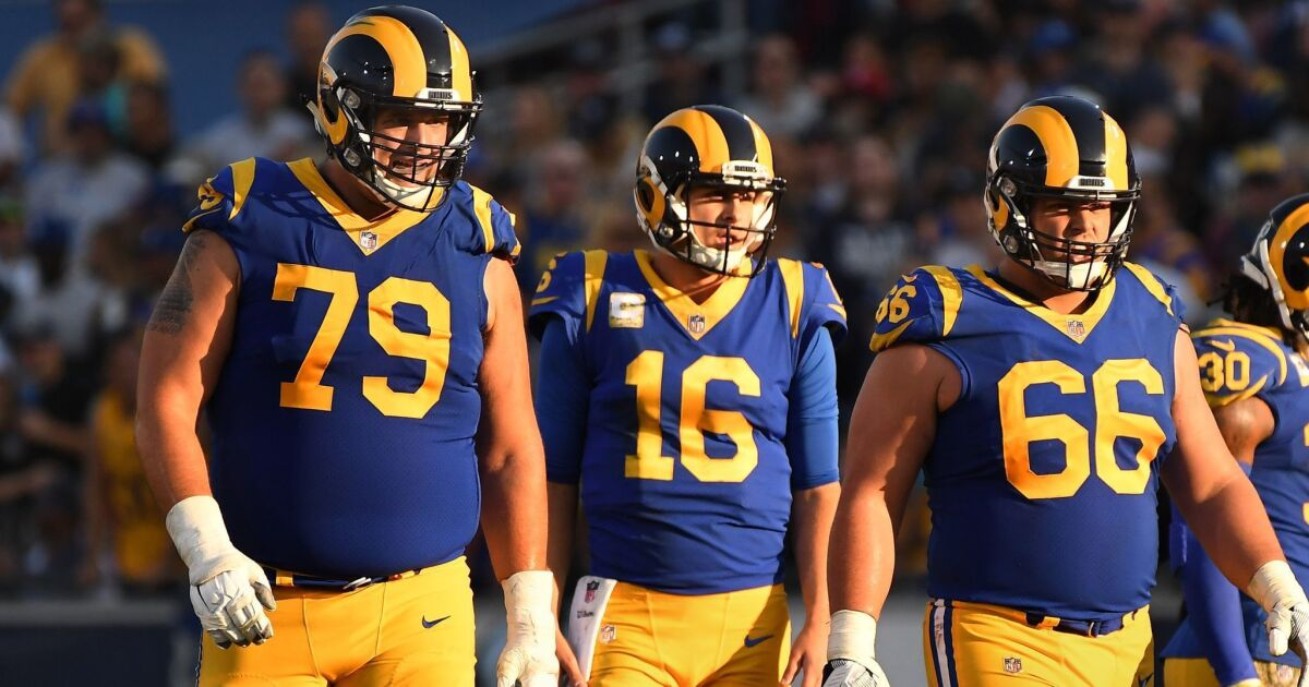 Rams lose center Brian Allen for season with knee injury that requires surgery