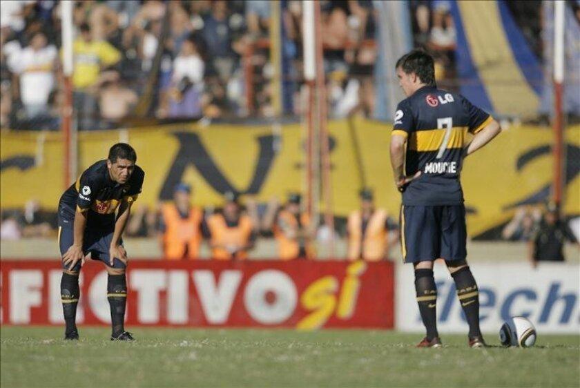 El partido de la Liga local entre Newell's Old Boys y Boca Juniors, programado por la televisión estatal a la misma hora que el programa programa Periodismo para todos, tuvo un nivel de audiencia de 17 puntos. EFE/Archivo