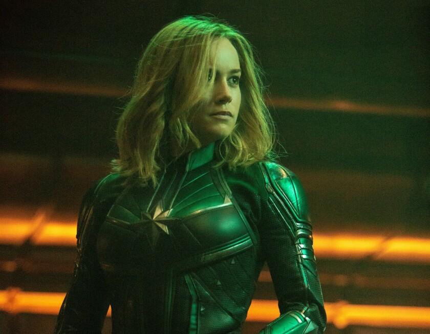 """Una escena de la cinta """"Captain Marvel"""", el gran estreno de este fin de semana."""