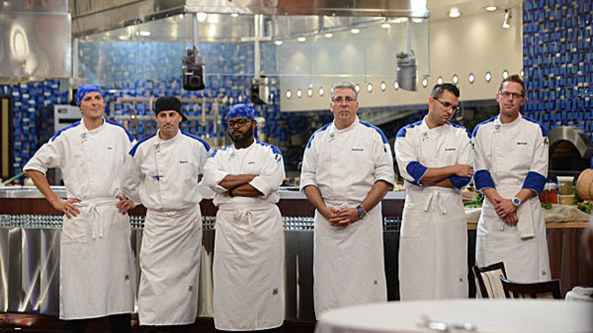 Hell S Kitchen Recap What Does Barret Have On Chef Ramsay Los Angeles Times