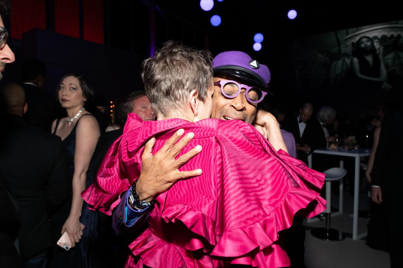 Frances Mcdormand and Spike Lee