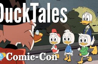 """DuckTales"" Cast Dances Their Way Through Some Ringtones At Comic-Con 2017"