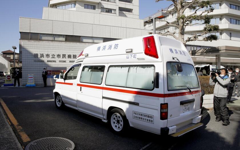 Virus Outbreak Japan Hospitals